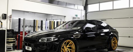 BMW 5'er F10 Breitbau Tuning - PD55X Widebody Aerodynamik-Kit