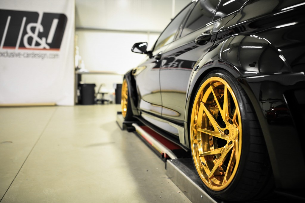 BMW 5er F10 Felgen - Rennen Forged R55 Step Lip X Concave