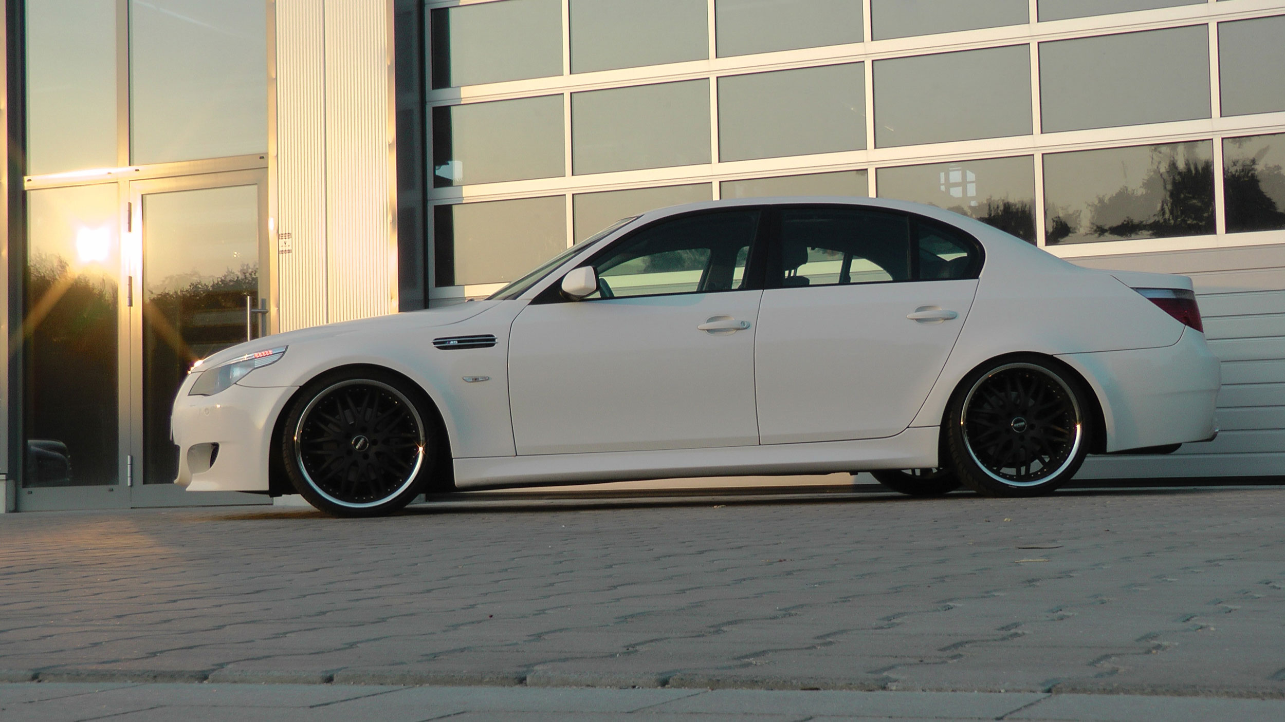 Bmw 5 Series E60m5 Limousine Tuning Pd M5 Style Aerodynamic Kit