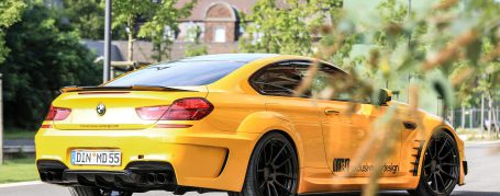 BMW 6'er 650i F13 Coupe Tuning - PD6XX Widebody Aerodynamik-Kit