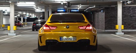 PD6XX WB Rear Bumper for BMW 6-Series F12/F13/M6