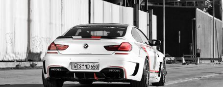 PD6XX WB Rear Bumper for BMW 6-Series F12/F13/M6