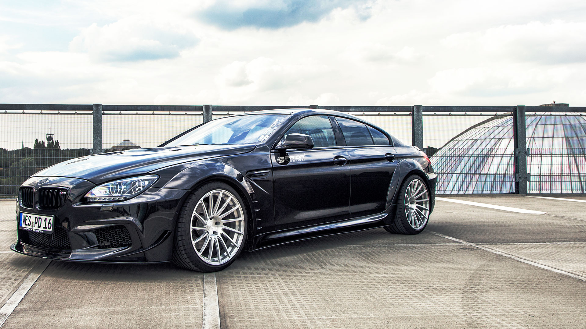 Bmw F06 M6 6 Series Gran Coupe Tuning Pd6xx Wide Body Aerodynamic Kit M D Exclusive Cardesign