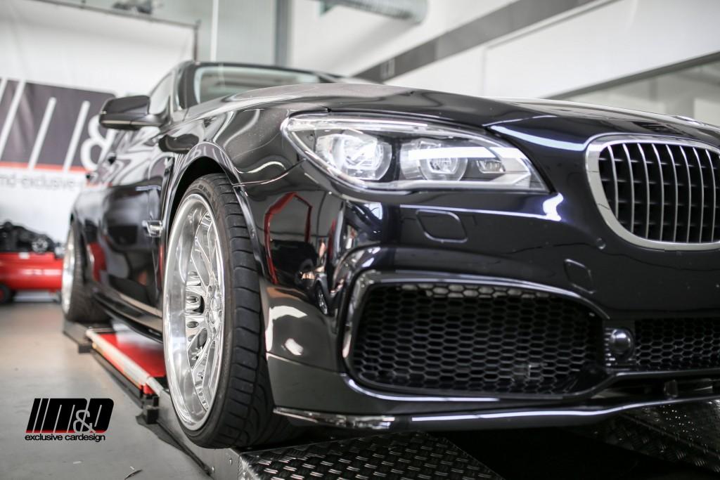 Bmw 7 Series F01 Tuning Pd7r Aerodynamic Kit Md Exclusive