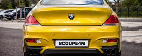 6COUPE4M Rear Bumper for BMW 6-Series E63/E64