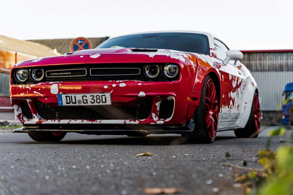 Dodge Challenger SRT Hellcat Tuning - PD900HC Widebody Aerodynamik-Kit