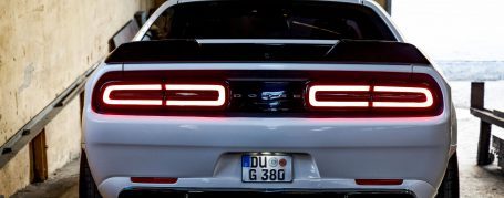 PD900HC Rear Under Diffusor Add-On Spoiler for Dodge Challanger