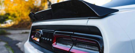 PD900HC Heckklappenspoiler inkl. Rückfahrcamera Aussparrung für Dodge Challanger