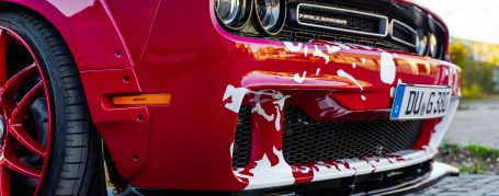 PD900HC Front Bumper incl. Front Add-On Lip Spoiler for Dodge Challanger