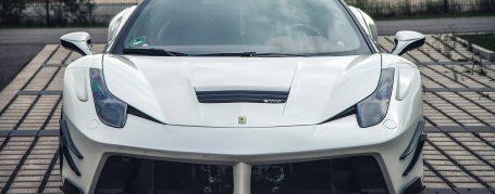 PD458WB Frontstoßstange + Frontspoiler für Ferrari 458 Italia