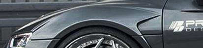 PD800 Frontkotflügelpaar (2 tlg.) für Audi R8 4S Coupe/Spyder