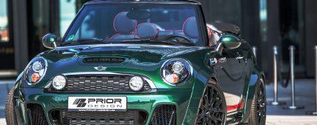 PD300+ Front Bumper incl. Add-On Spoiler for Mini Cooper S R56