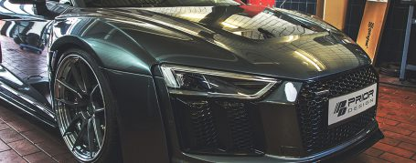 PD800WB Front Widenings with Vents Inserts for Audi R8 4S Coupe/Spyder [2015+]