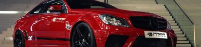 PD Black Edition Widebody Aerodynamik-Kit passend für Mercedes C Coupé C204