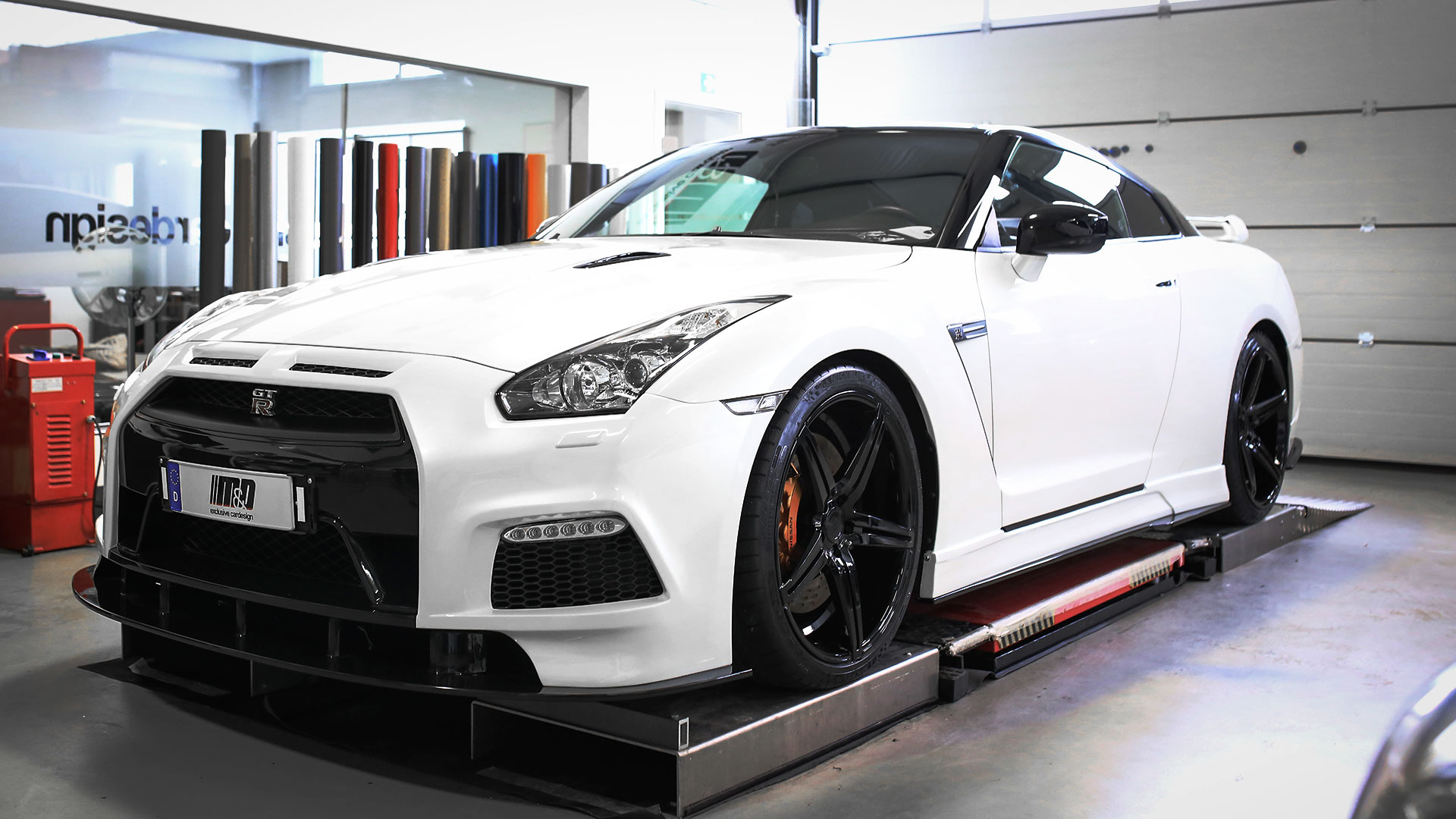Nissan Gt R R35 Tuning Pd750 Aerodynamic Kit M D Exclusive Cardesign