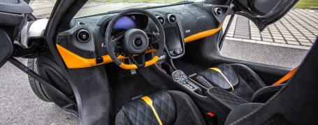 McLaren 570S mit Alcantara-Innenausstattung
