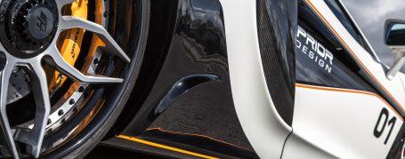 PD1 Heckteile für Seitenschweller für McLaren 570S