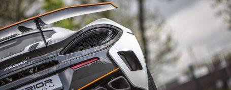 PD1 Seitenteile mit Lufteinlässen für Heckstoßstange für McLaren 570S