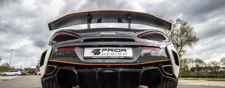 PD1 Heckdiffusor für McLaren 570S
