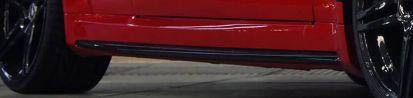 Black Edition Seitenschweller für Mercedes C Coupé C204