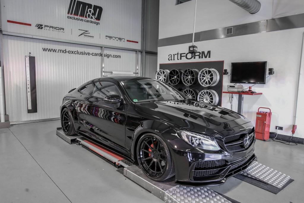 Mercedes C-Coupé C43/C63/C63S AMG C205 Tuning   PD65CC Widebody