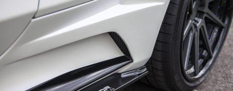 PD65CC WB Seitenschweller inkl. Seitenschwelleransatz für Mercedes C-Coupe C205
