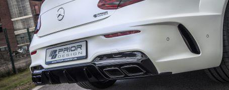 PD65CC WB Heckstoßstange inkl. Diffusor für Mercedes C-Coupe C205