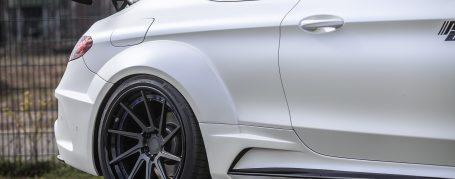PD65CC WB Heckverbreiterungen für Mercedes C-Coupe C205
