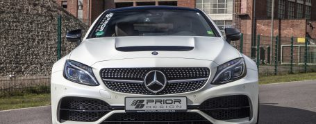 PD65CC WB Frontstoßstange inkl. Frontspoilerschwert für Mercedes C-Coupe C205