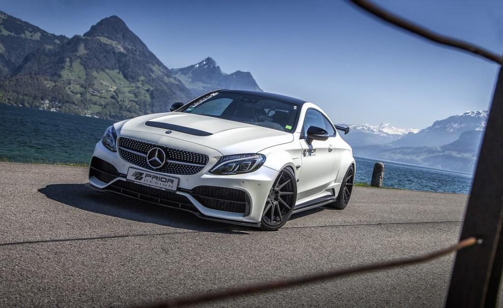 Mercedes C-Klasse C205 Coupe Breitbau Tuning | Widebody