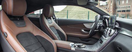 Mercedes C-Coupé C205 Designo interior