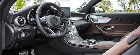 Mercedes C-Coupé C205 Designo Interieur