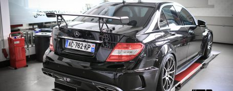 PD Black Edition Widebody Rear Bumper for Mercedes C-Class W204