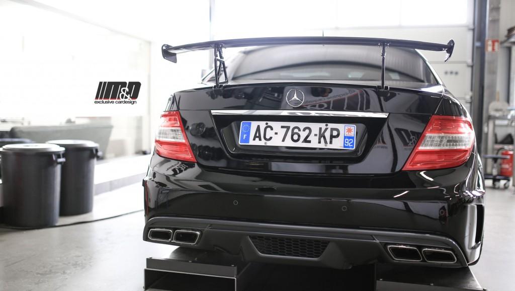 PD Black Edition Widebody Heckstoßstange für Mercedes C-Klasse W204