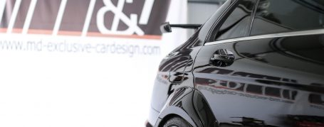 PD Black Edition Widebody Rear Widenings for Mercedes C-Class W204