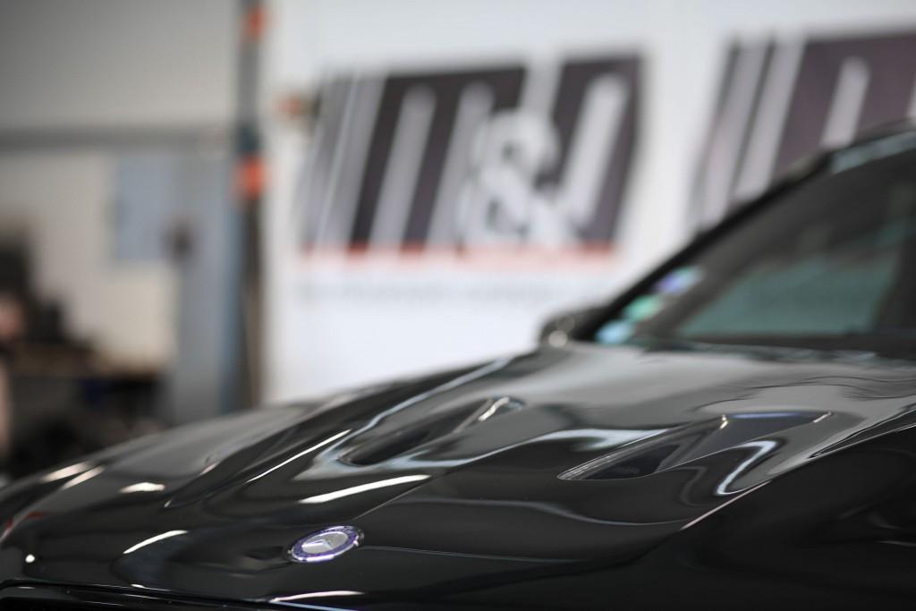 PD Black Edition Motorhaubenaufsatz für Mercedes C-Klasse W204