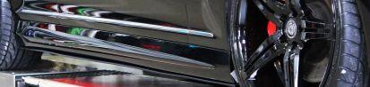PD Black Edition V4 Seitenschweller für Mercedes CL C216