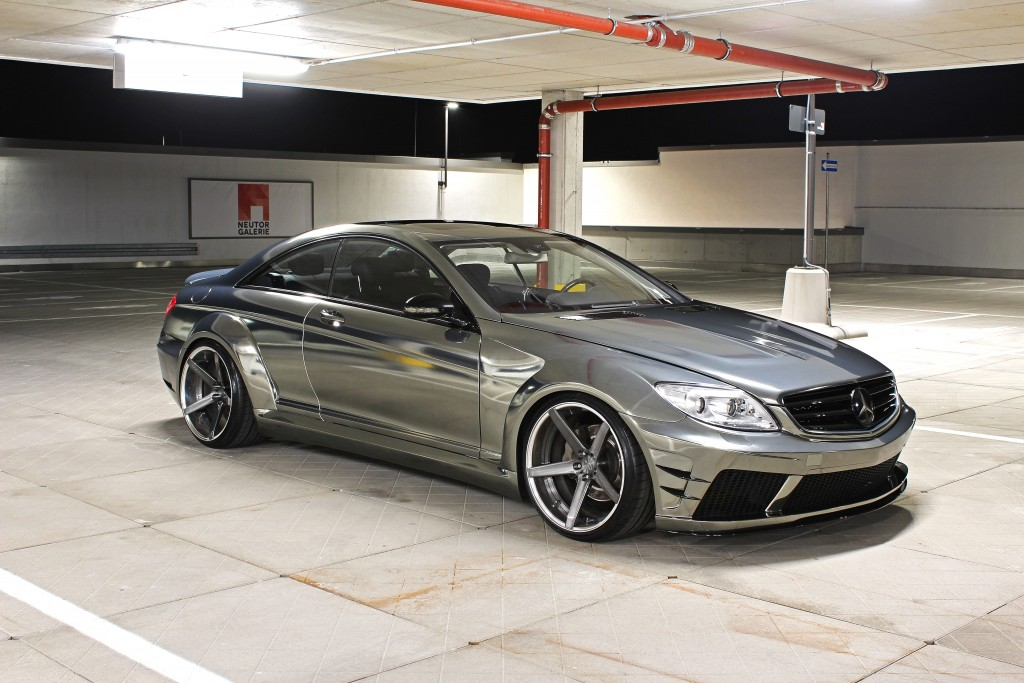 mercedes cl 500 v8 w216 black edition tuning rennen. Black Bedroom Furniture Sets. Home Design Ideas