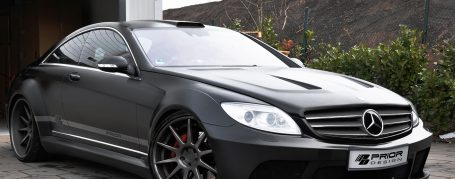 Mercedes CL W216 Breitbau Tuning - Black Edition V1 Widebody Aerodynamik-Kit