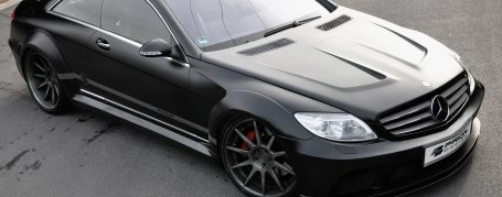 Black Edition V1 WB Frontkotflügel & Seitenwandverbreiterung hinten für Mercedes CL C216