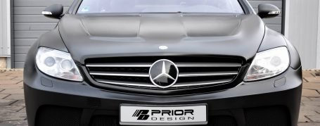 Black Edition V1 WB Frontstoßstange für Mercedes CL C216
