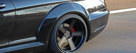 Black Edition V2 Widebody Rear Widenings for Mercedes CL C216