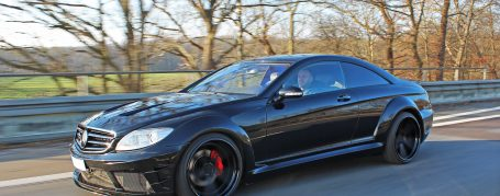 Mercedes CL C216 Breitbau Tuning - Black Edition V2 Widebody Aerodynamik-Kit