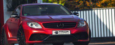 Black Edition V4 Widebody Front Fenders for Mercedes CL C216