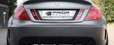 Black Edition V2 Widebody Heckstoßstange inkl. Diffusor für Mercedes CL W216 FL
