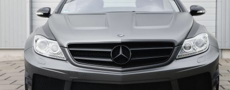 Black Edition Widebody Motorhaube für Mercedes CL W216 FL