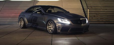 Mercedes CL C216/W216 Facelift Tuning - Black Edition V2 Widebody Aerodynamik-Kit
