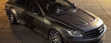 Mercedes CL C216/W216 Facelift Tuning - Black Edition V2 Widebody Aerodynamik-Kit