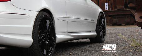 PD Seitenschweller für Mercedes CLK C209/A209 Coupe/Cabrio
