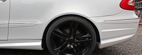 PD Heckstoßstange für Mercedes CLK C209/A209 Coupe/Cabrio